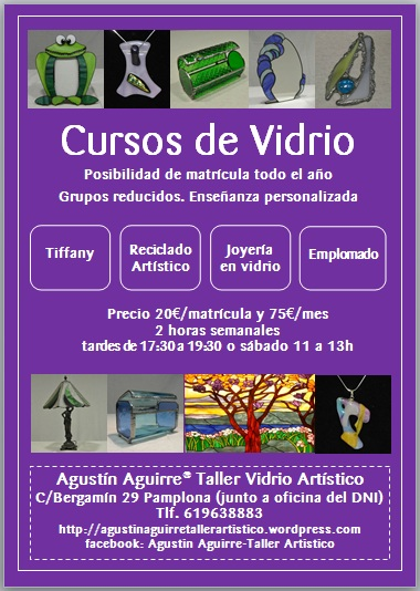 Cursos agust n aguirre taller art stico for Oficina dni pamplona
