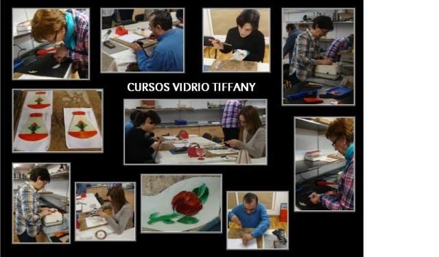 cursos vidrio tiffany taracea