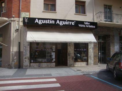 Agustín Aguirre Taller Vidrio Artístico Bergamín Pamplona