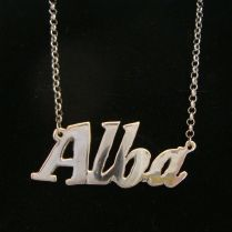 Nombre plata Alba