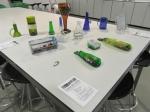 taller vidrio reciclado