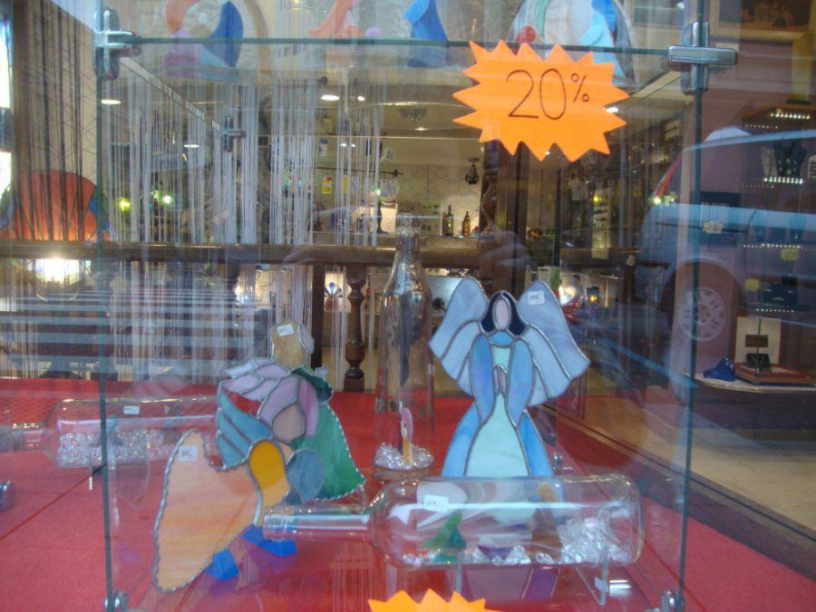 decoracion navidad vidrio